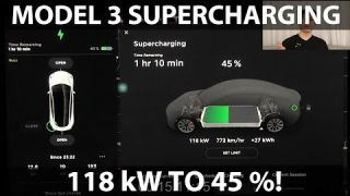 Model 3 Long Range supercharging
